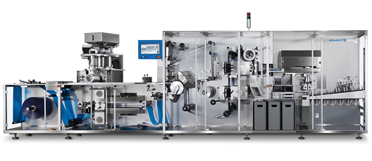 PPS a/s blister packaging solutions from Romaco Noack - intermittent motion