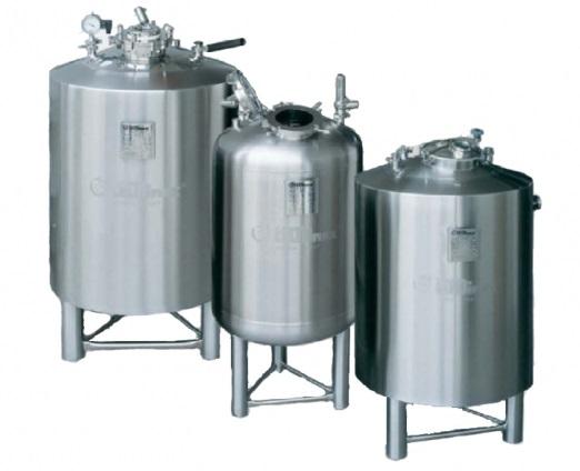 PPS A/S procesudstyr til væskefremstilling - produktions- og opbevaringstanke fra Tecninox
