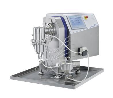 PPS A/S - formaling og agglomerering - NanoWitt laboratoriemølle fra Frewitt