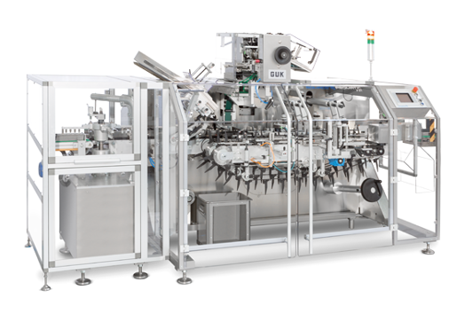 PPS a/s packing and end-of-line equipment from Romaco Promatic - intermittent motion cartoner