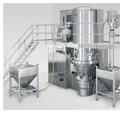 PPS powder mixer Diosna granulation