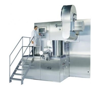 PPS powder mixer Diosna single pot processor production