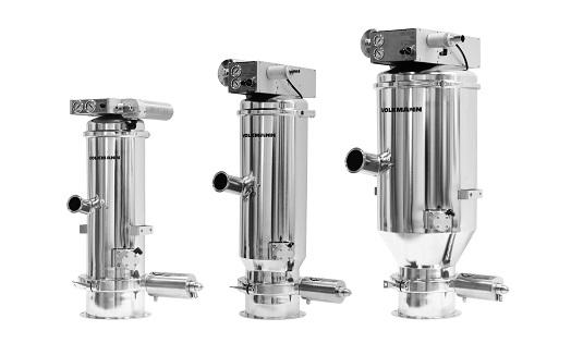 PPS A/S produkthåndtering - støvfri håndtering, håndtering af Big Bags, vakuumtransport fra Müller, Volkmann og Schneider