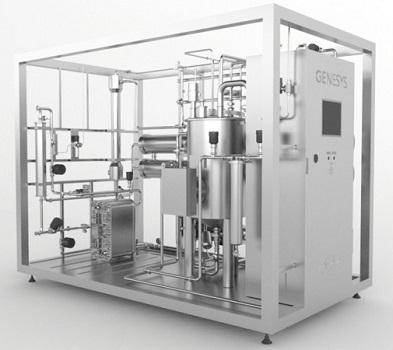 PPS A/S kemisk renset vand - system til demineralisering af vand fra Telstar