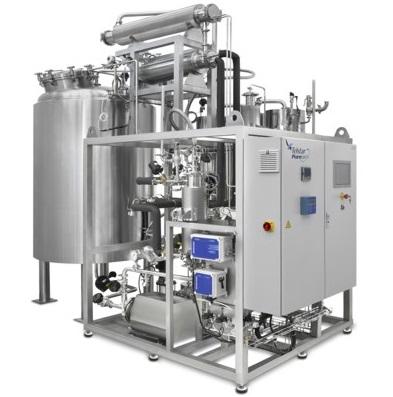 PPS A/S kemisk renset vand - vandsystem til fremstilling af vand til injektion fra Telstar