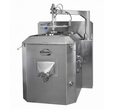 PPS a/s vertical centrifugal coater from Diosna