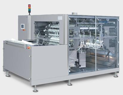 PPS A/S vask og rengøring - lineær vaskemaskine til hætteglas og ampuller fra Romaco Macofar